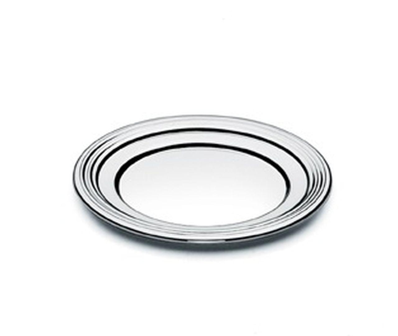 Piattino pane argentato argento stile Inglese cm.diam.11