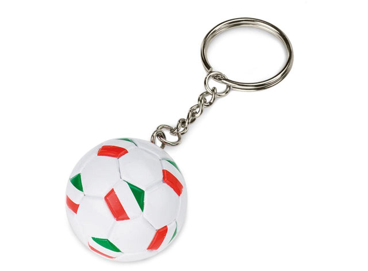 Portachiavi Pallone da Calcio Italia