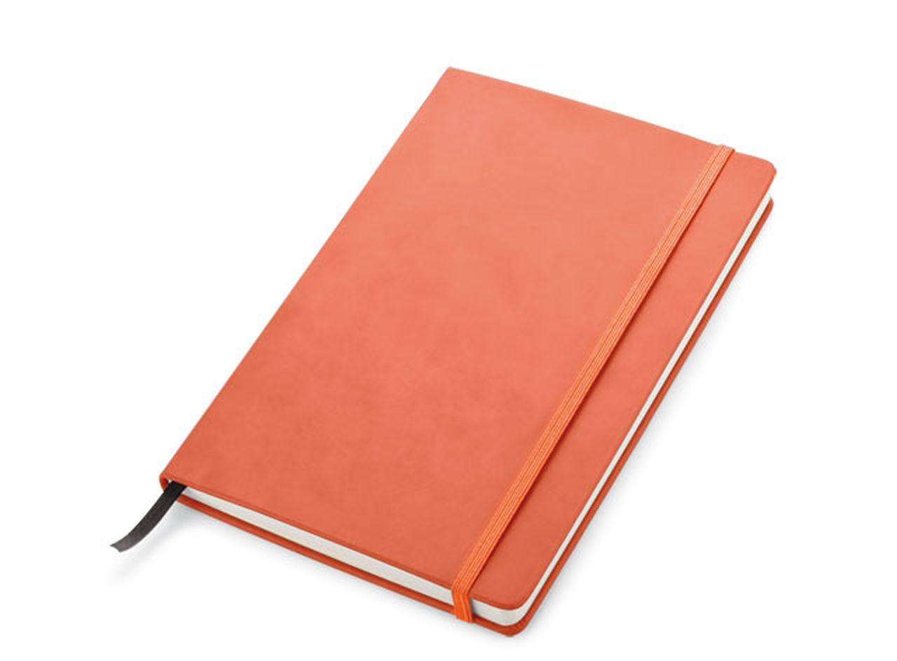Blocco note arancione cm.21x14x2h