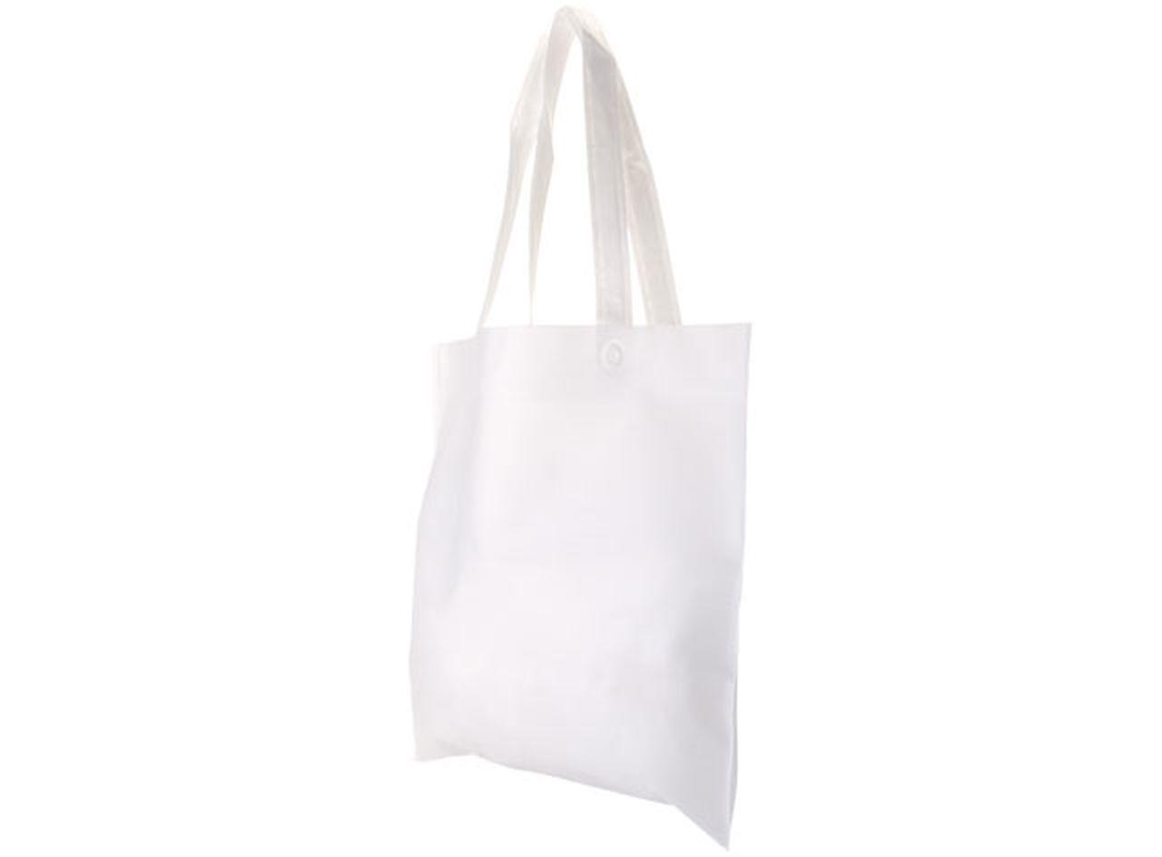 Borsa shopper bianca cm.38x34x0,2h
