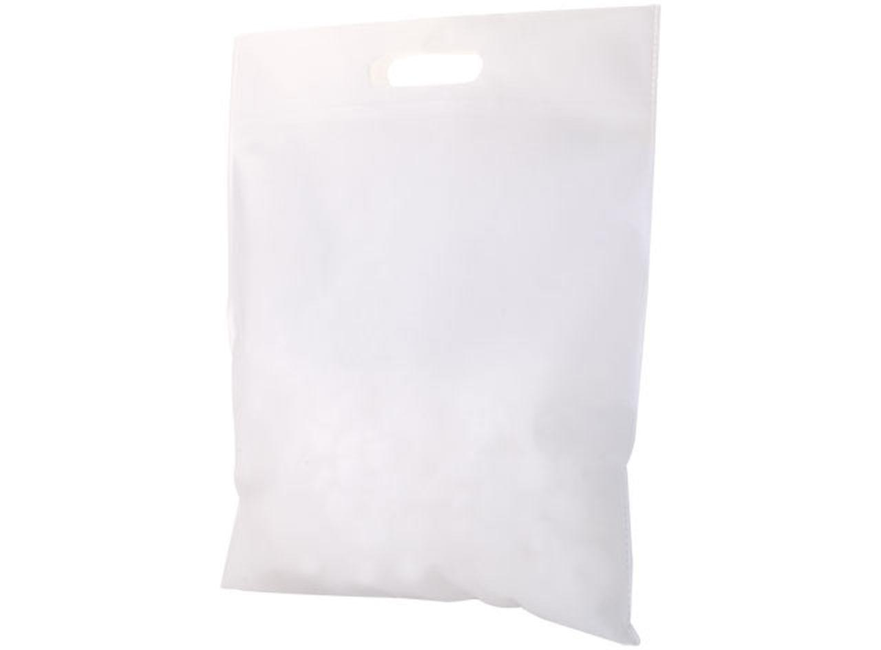 Borsa in tnt bianca cm.44x34x0,1h