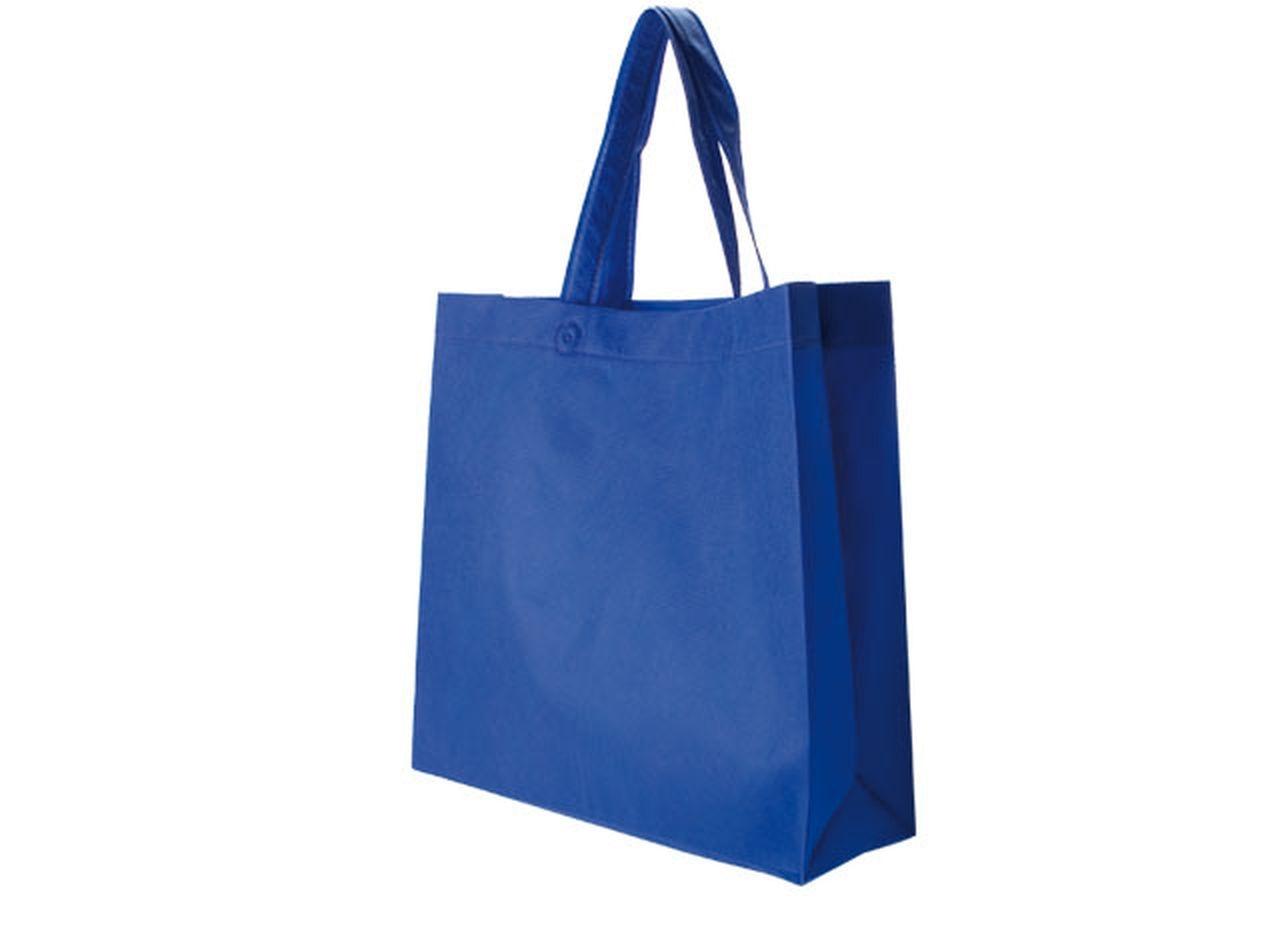 Borsa in tnt royal blue cm.34x38x10h
