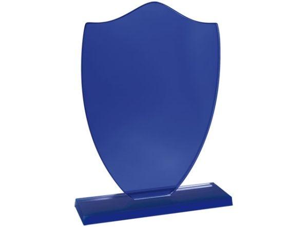 Trofeo specchio blu