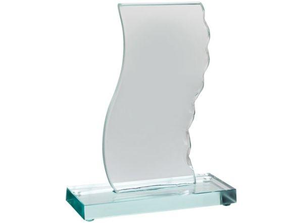 Trofeo bianco base verde