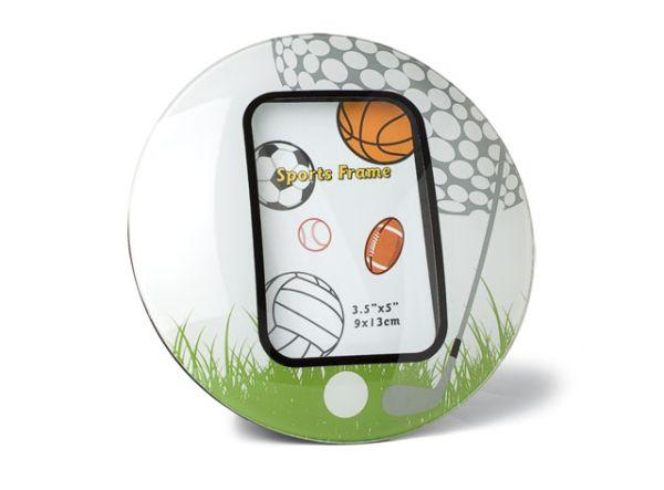 Portafoto golf ball cm.18x13x1h