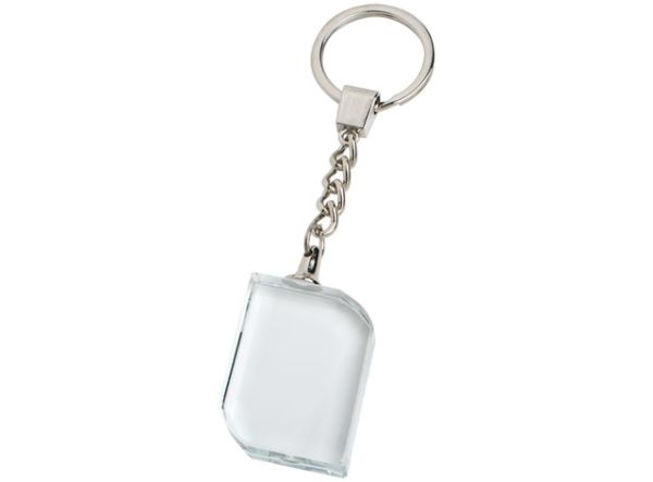 Portachiavi crystal cm.4x2,8x1,5h