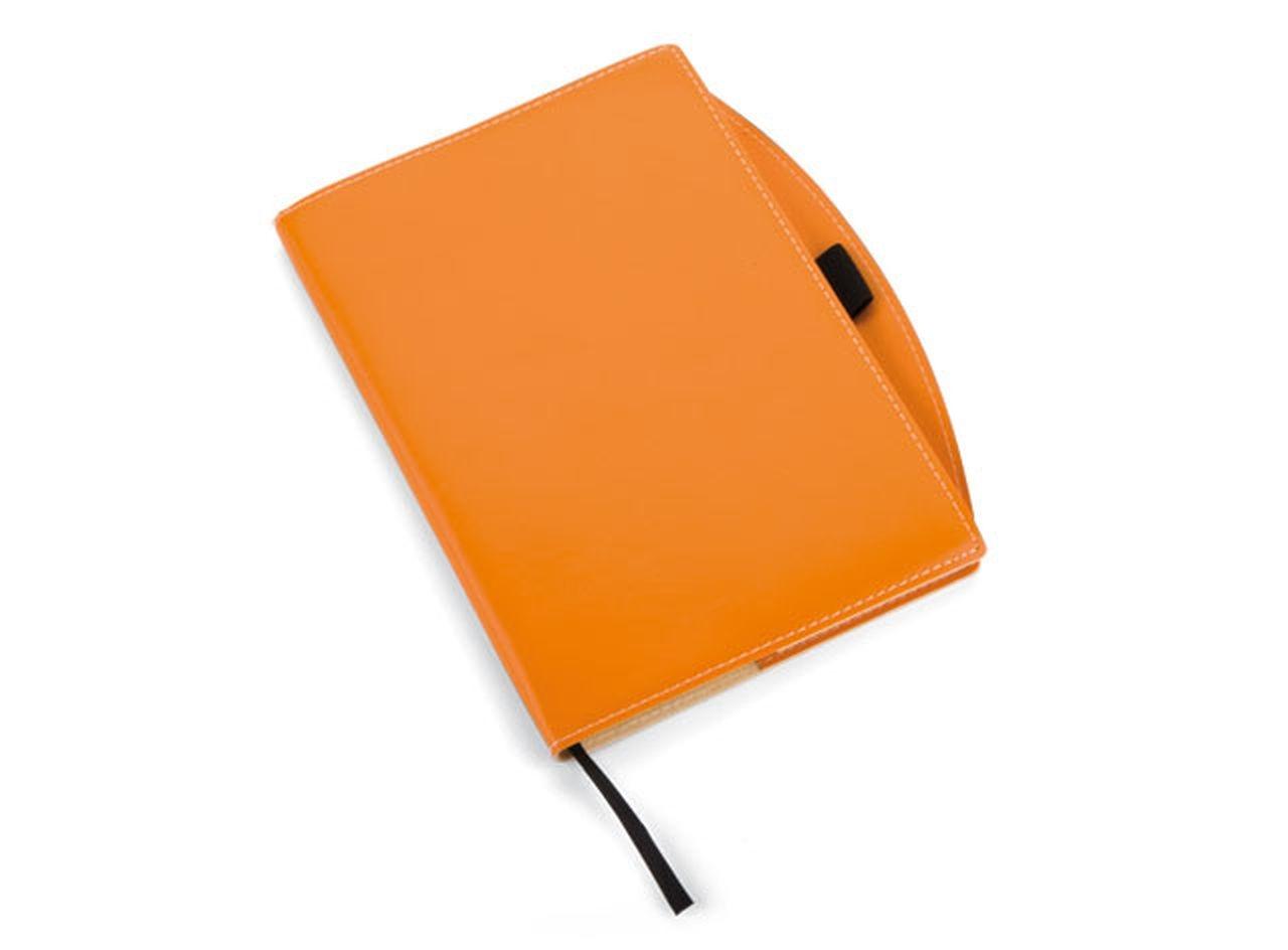 Notebook arancio