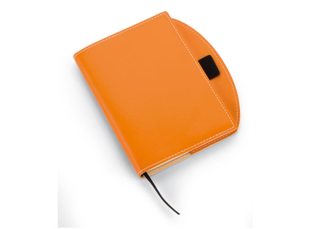 Notebook piccolo arancio cm.15,5x13x1h