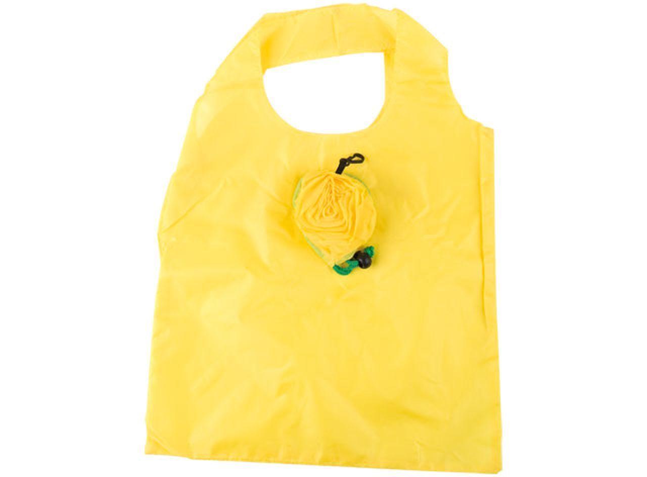 Shopping bag yellow rose cm.38x36x0,5h
