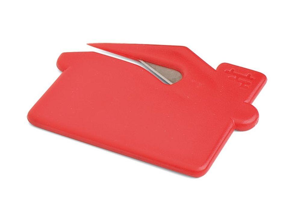 Apribusta lettere in plastica rossa