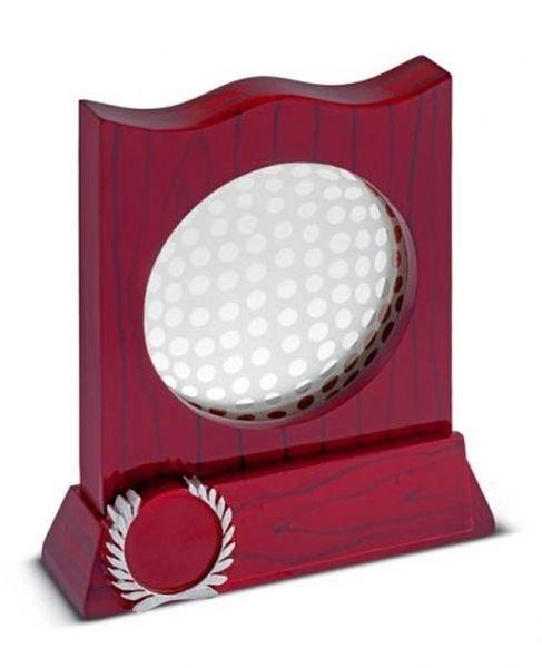 Trofeo golf croara rosso cm.13x4x16h