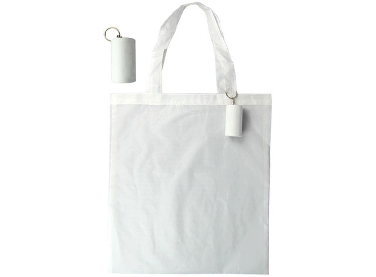 White tube shopper cm.43x40x0,5h