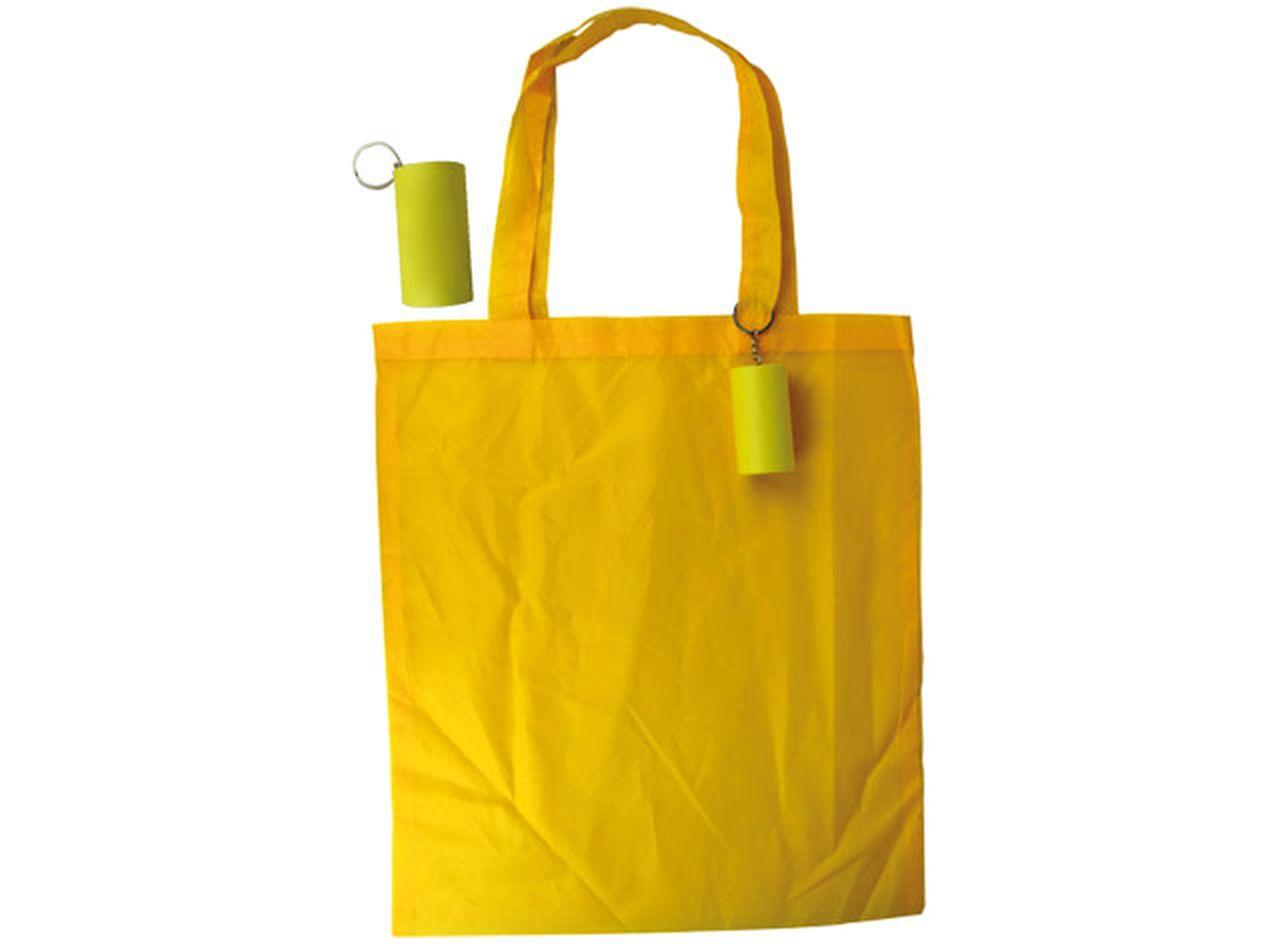 Yellow tube shopper cm.43x40x0,5h