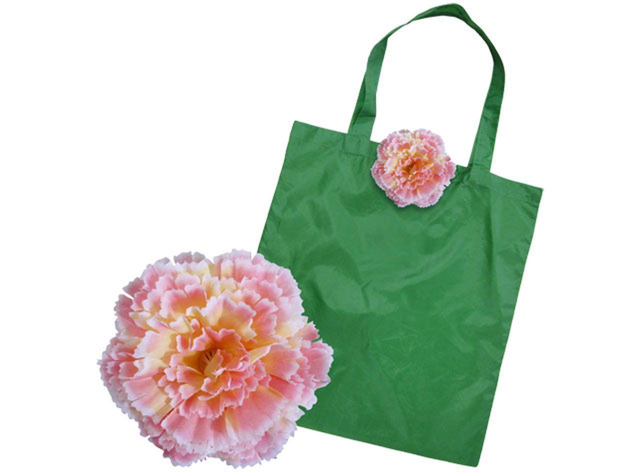 Shopper garofano rosa