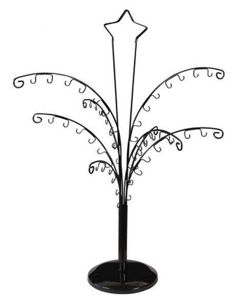 Espositore nero ad albero
