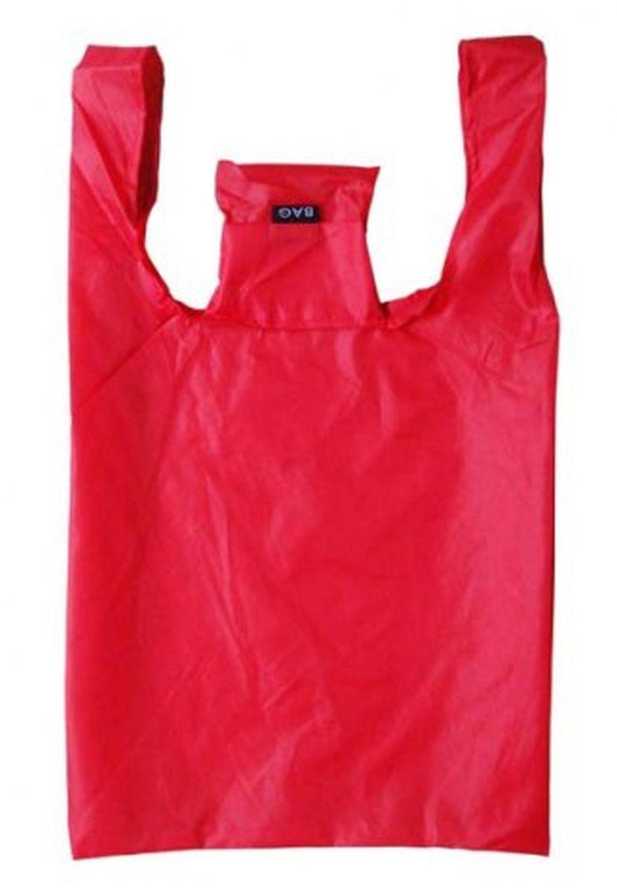 Shopper rossa cm.40x35x10h