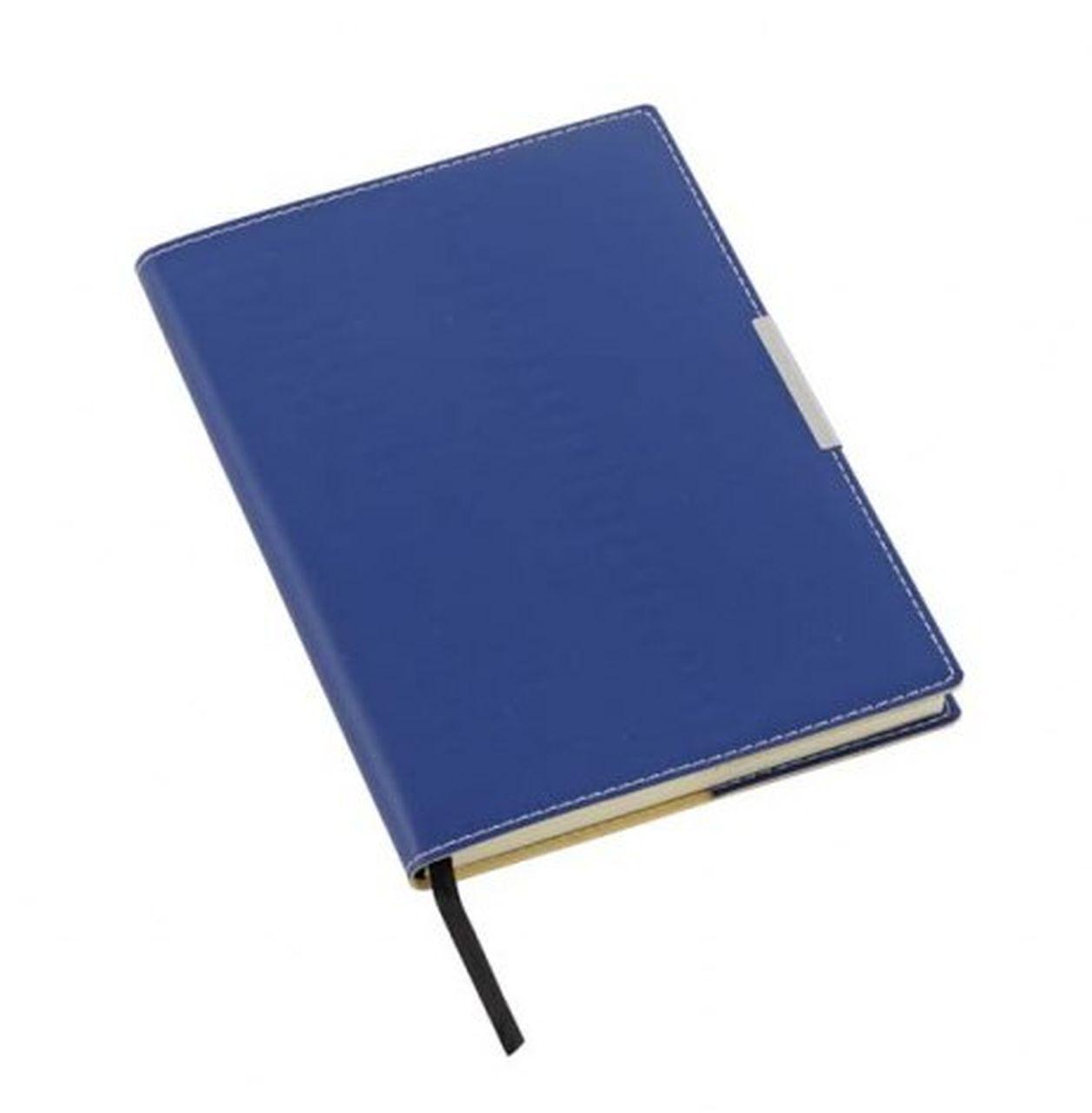Notebook blu placca argento