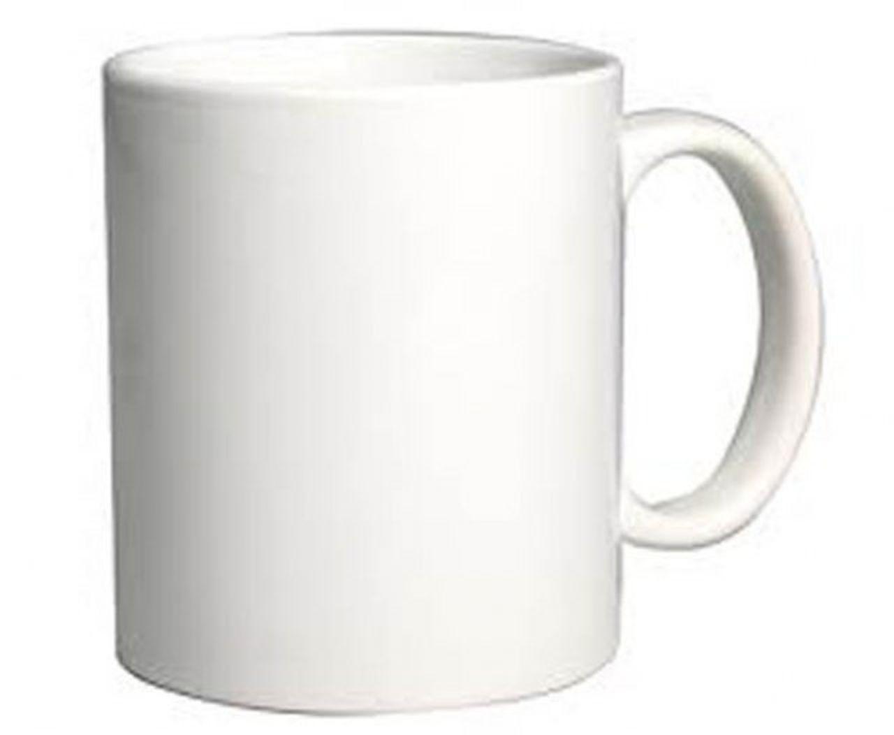 Mug verniciata per sublimazione cm.8x11,5x9,5h diam.8