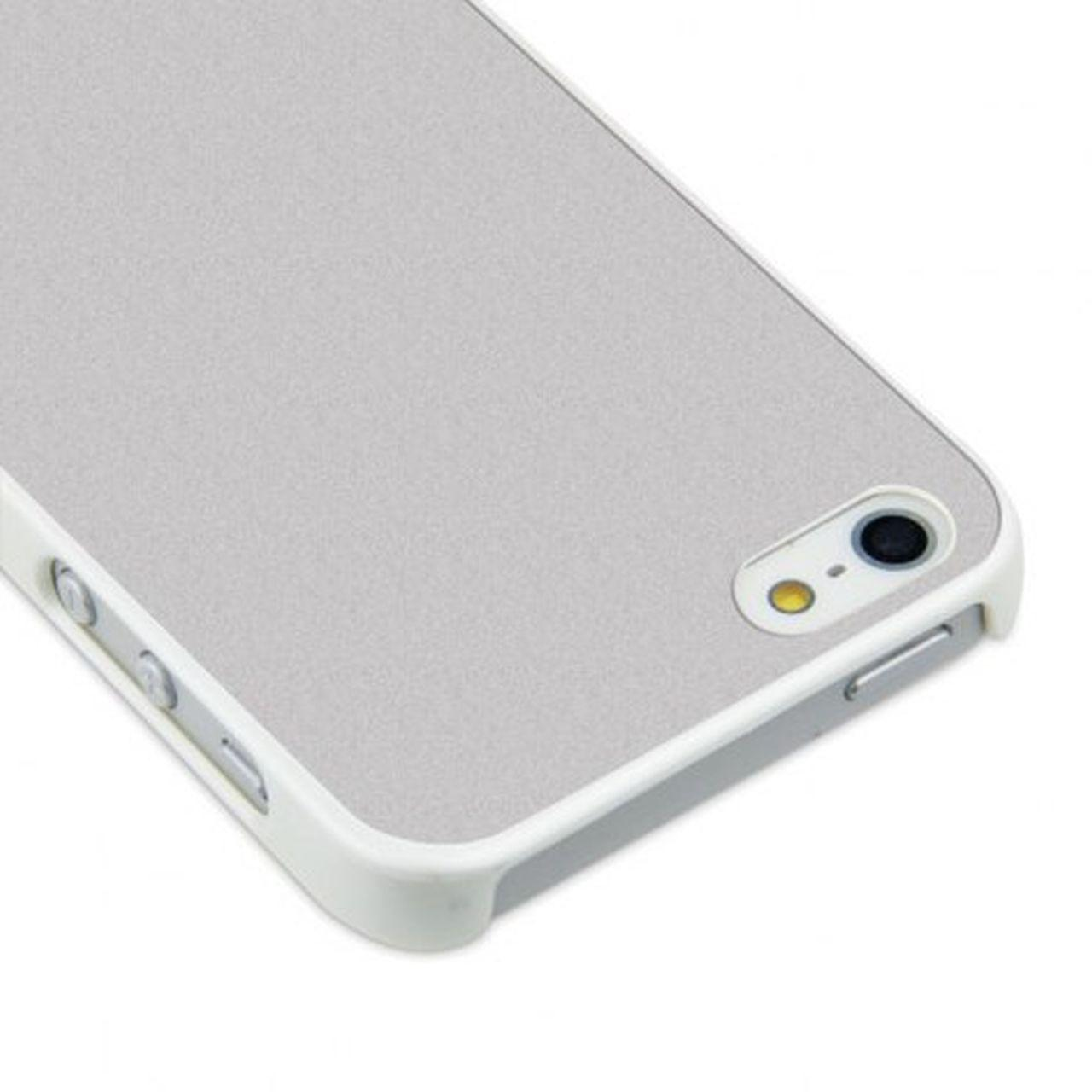 Sublicover bianca argentata perlata iphone 4