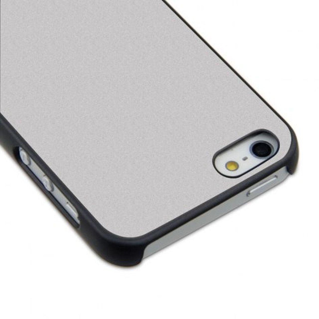 Sublicover nera perlata argento iphone5 cm.13x7x1h