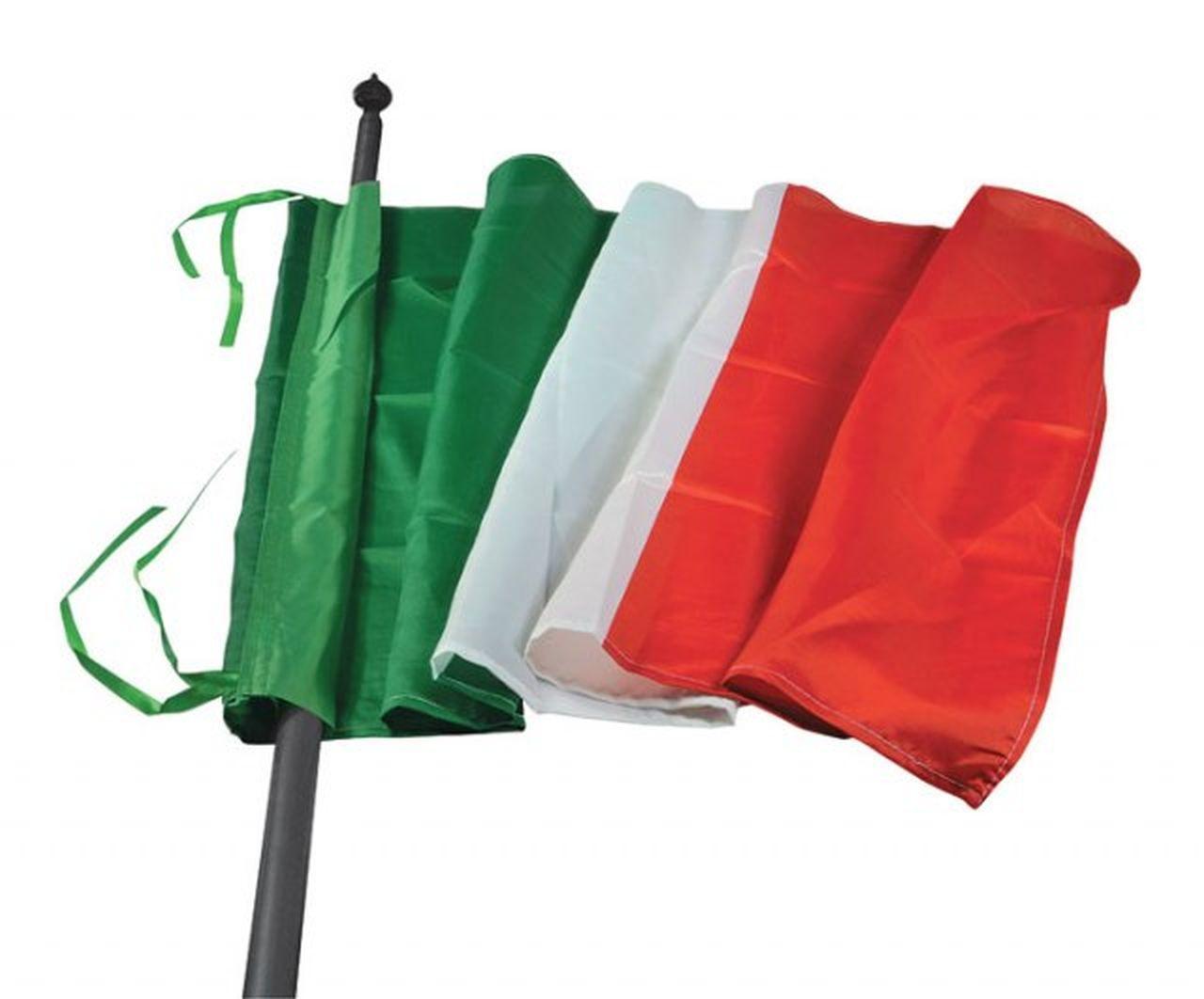 Bandiera Italia cm.150x100x0,1h