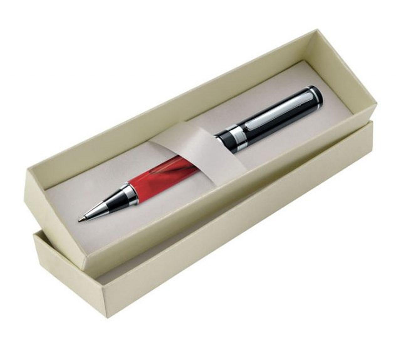 Scatola avorio penna non inclusa cm.18x5,5x3,5h
