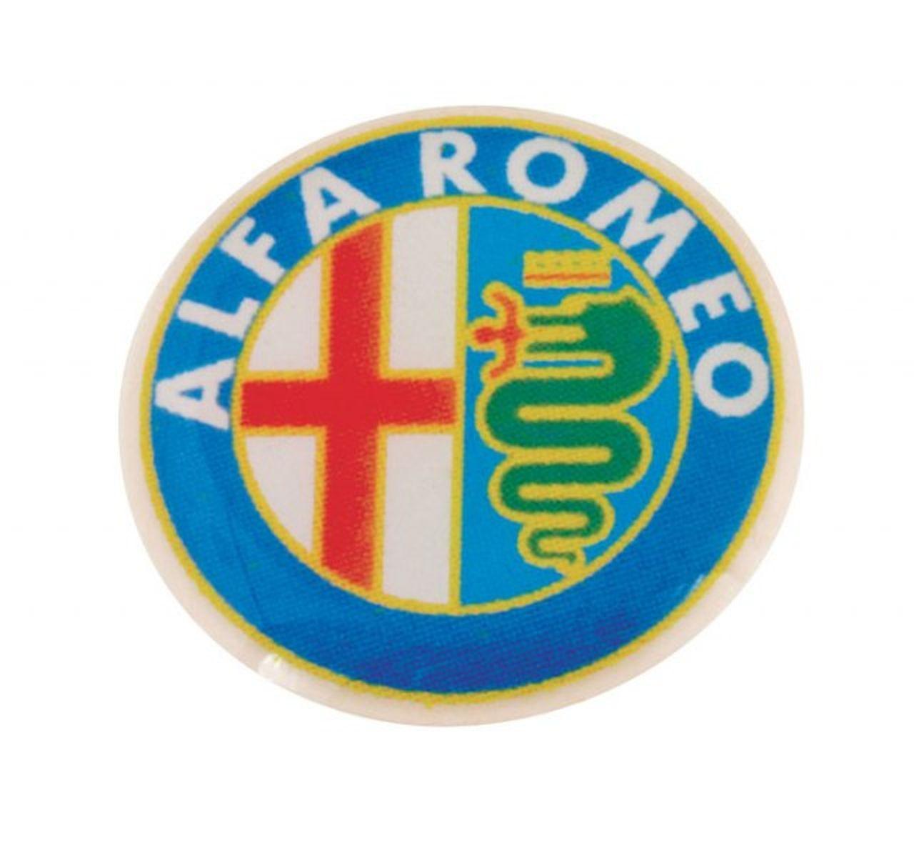 Alfa Romeo etichetta cm.0,2h diam.1,4