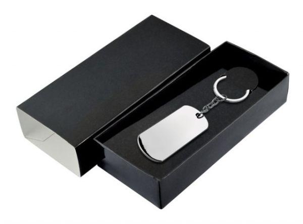 Box nero per portachiavi cm.15x6,5x3h