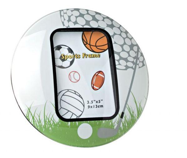 Portafoto golf ball cm.10x15x1h