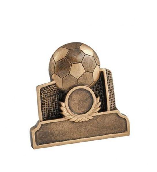 Premio Trofeo Porta da Calcio Pallone Goal cm.10x3x10h