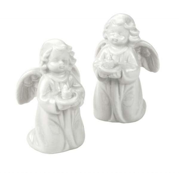Angioletti in porcellana 2 pezzi