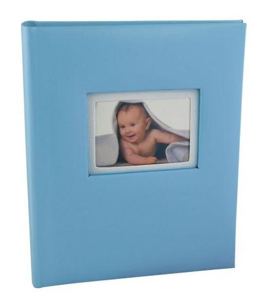 Album portafoto azzurro bimbo cm.22,5x26,5x3,5h