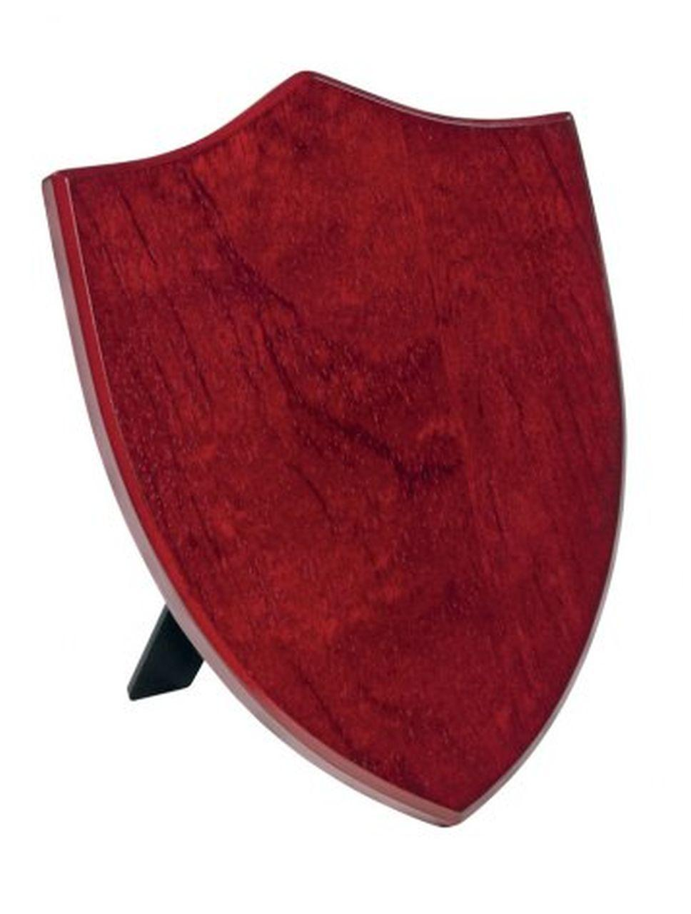 Crest scudo legno MDF mogano