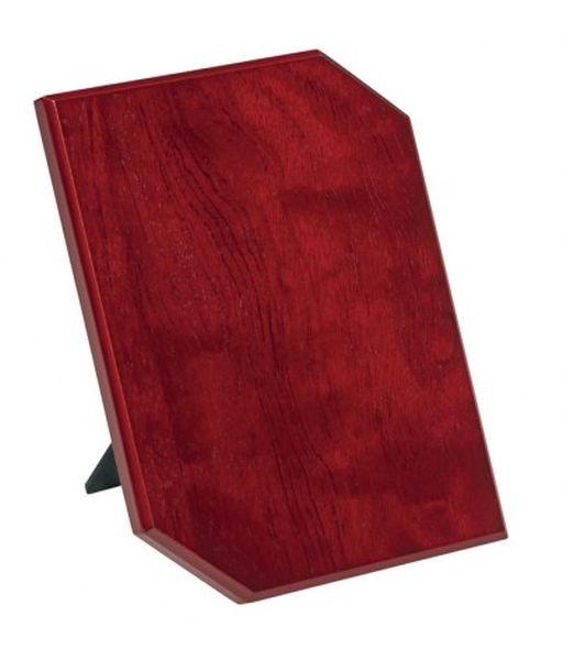 Crest pergamena legno mogano cm.15,5x1,2x20,5h