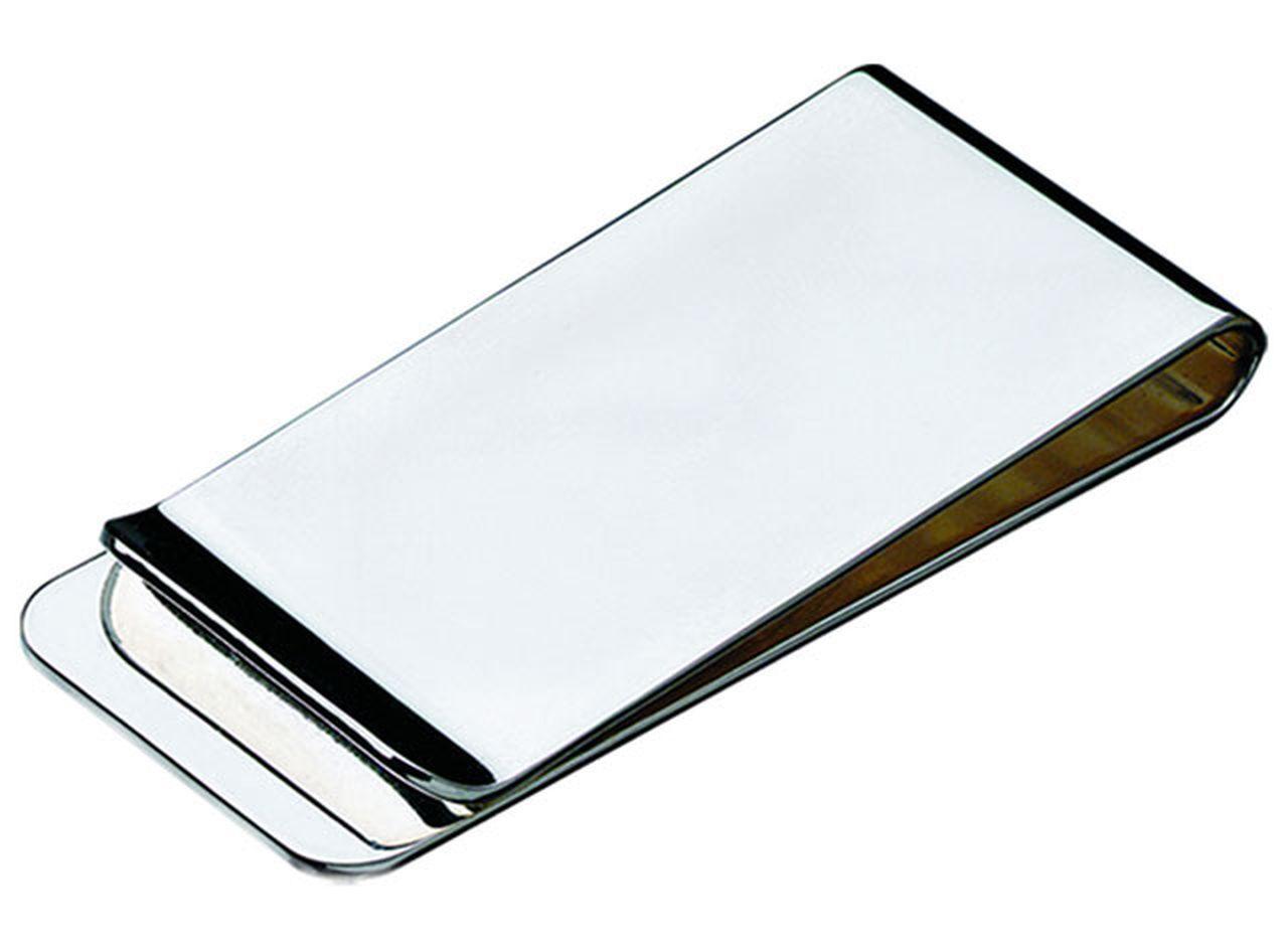 Fermasoldi argentato argento  silver plated