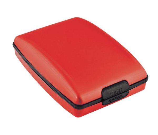 Portabiglietti multifunction rosso