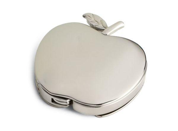 Portaborsetta mela cromata