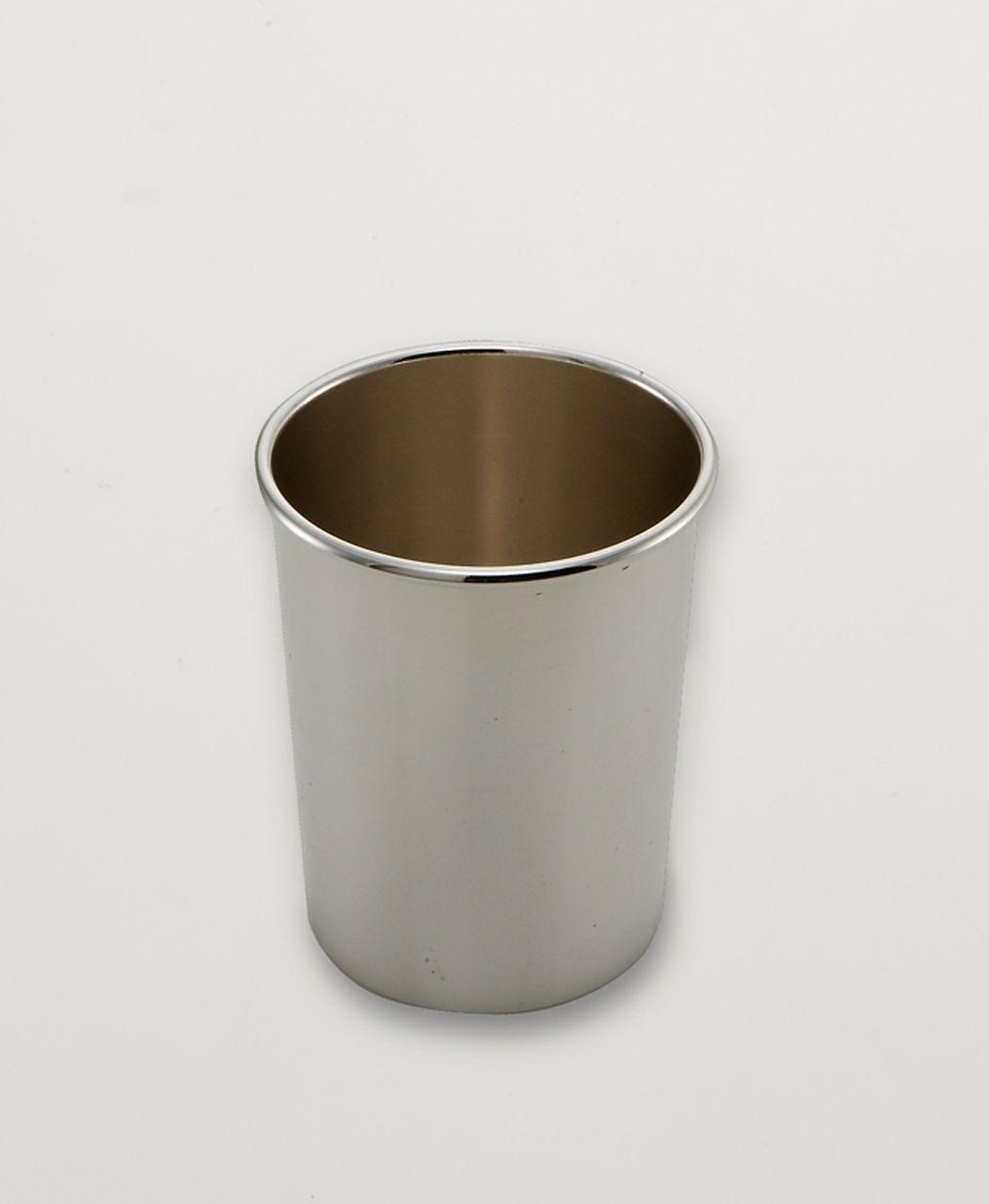 Bicchierino classic argentato argento sheffield cm.8,5h diam.7,5