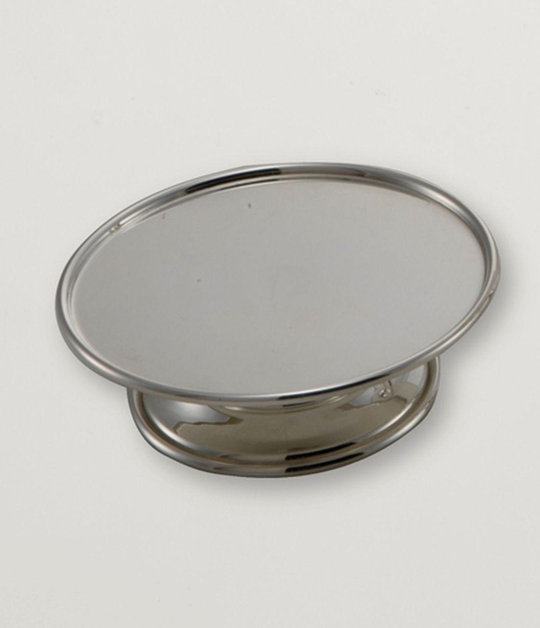 Alzatina tonda per dolci argentata argento silver plated