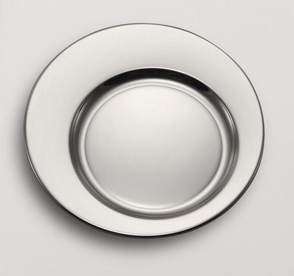 Sottobottiglia argentato argento cm.diam.15