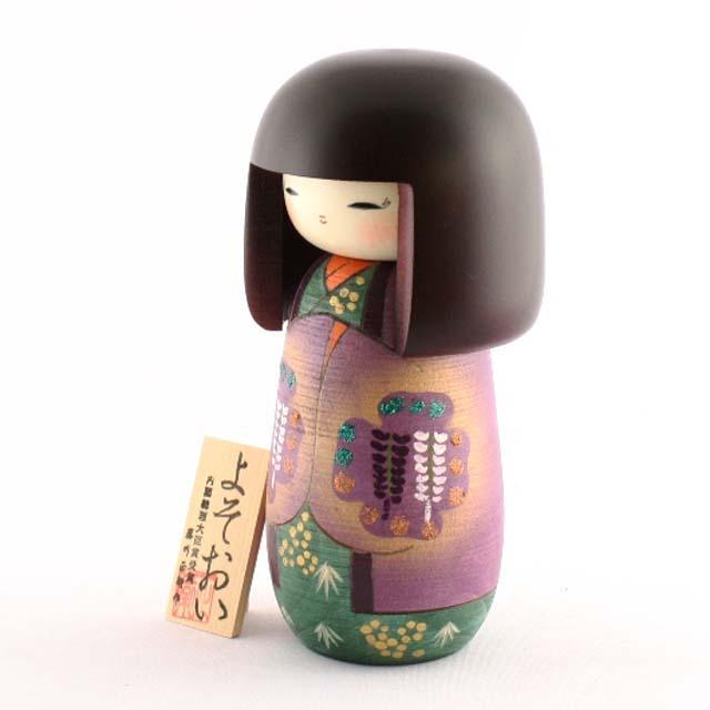 Bambola Kokeshi - Grazia (Yosooi) (S)