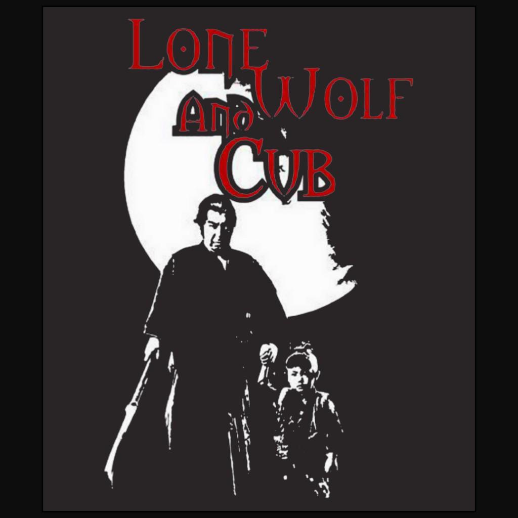 Ogami Itto Daigoro road to hell Lone wolf and cub Shogun Assassin Black t-shirt free shipping