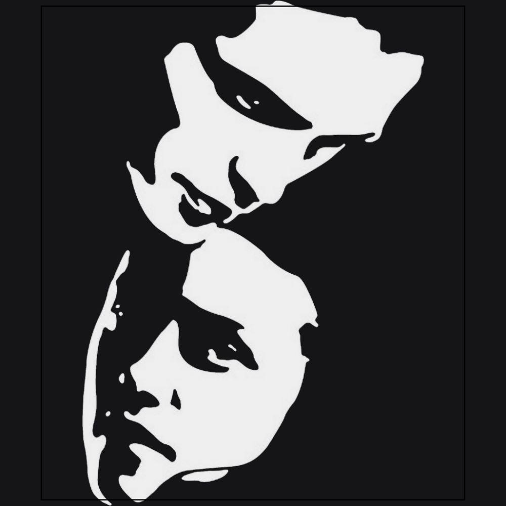 Bella Swan and Edward Cullen Twilight Saga Kristen Stewart Robert Pattinson movies black t-shirt