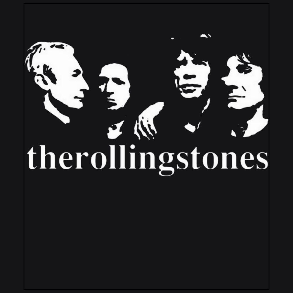 The Rollingstones member Rock band black t-shirt