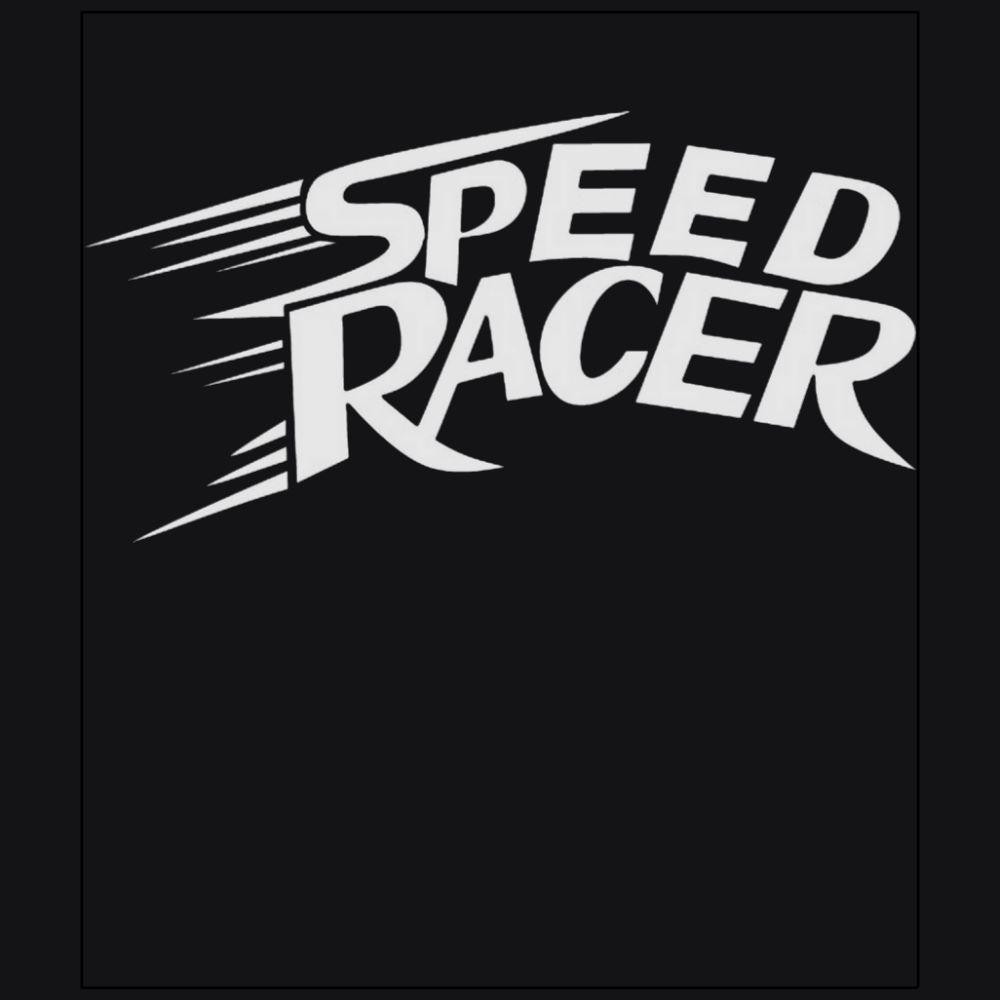 Speed racer Mach Go Go Go automobile racing japanese anime black t-shirt