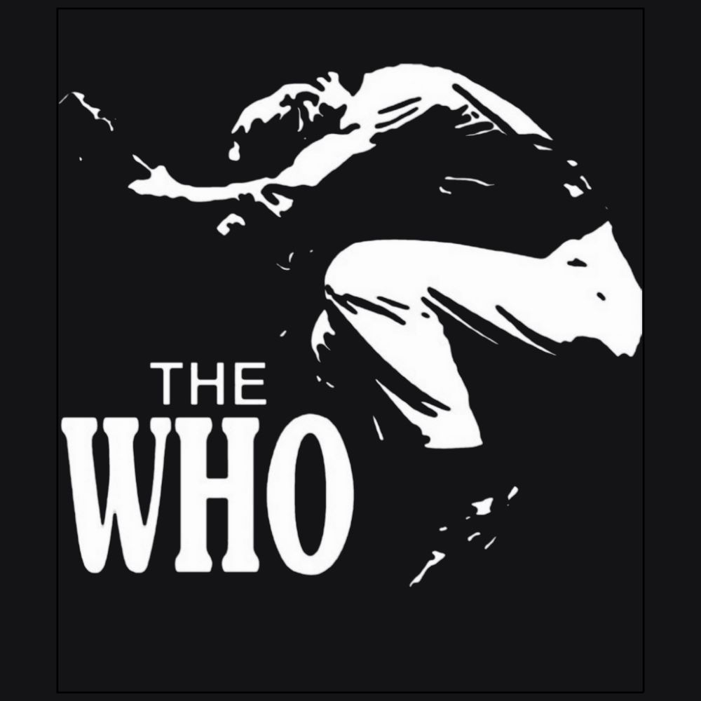 The Who black t-shirt