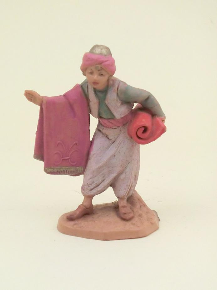 Arabo con tappeto cm. 6,5
