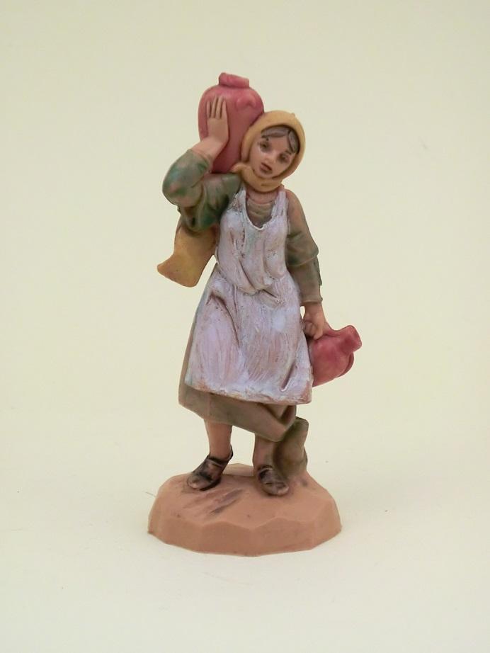 Donna con anfore cm. 6,5