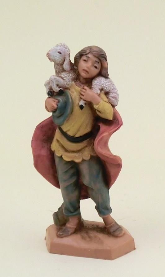 Pastore con agnello in spalla cm. 6,5