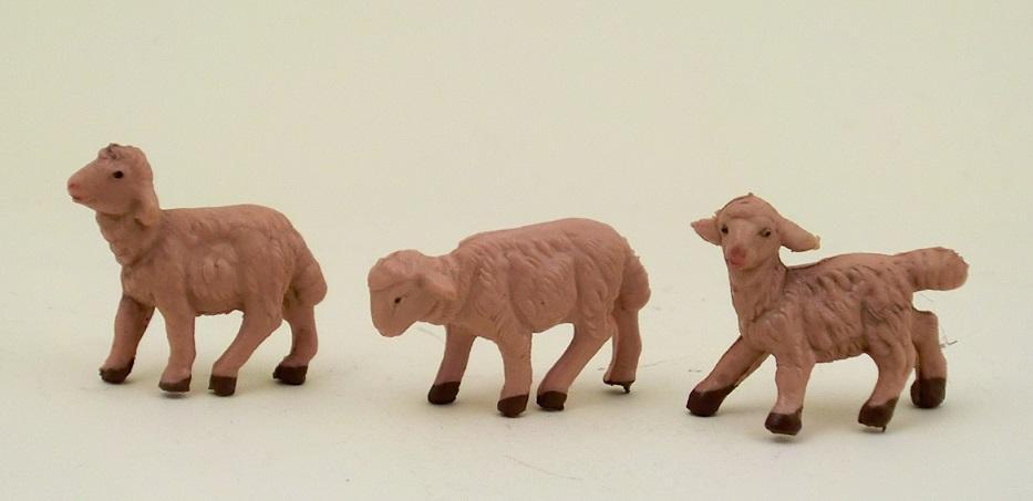 Pecore singola sfumata per cm. 6,5